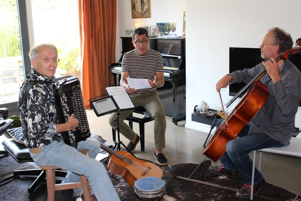 Arent, Jorge en Joost
